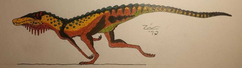 Pseudhesperosuchus jachaleri by TheDubstepAddict