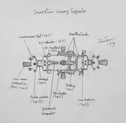 Javelin heavy space torpedo sketch