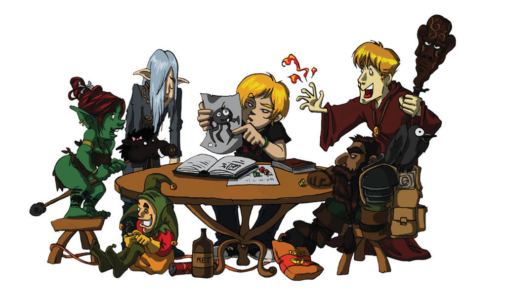 Roleplaying Group by JustaBlink