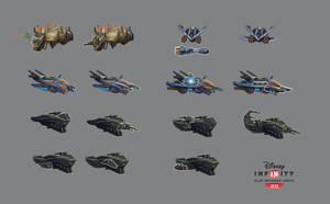 Disney Infinity - Vehicle weapons by JustaBlink