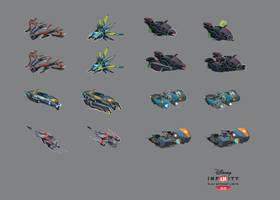 Disney Infinity - Vehicle weapons II by JustaBlink