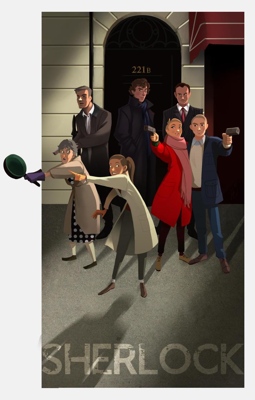 Sherlock by JustaBlink