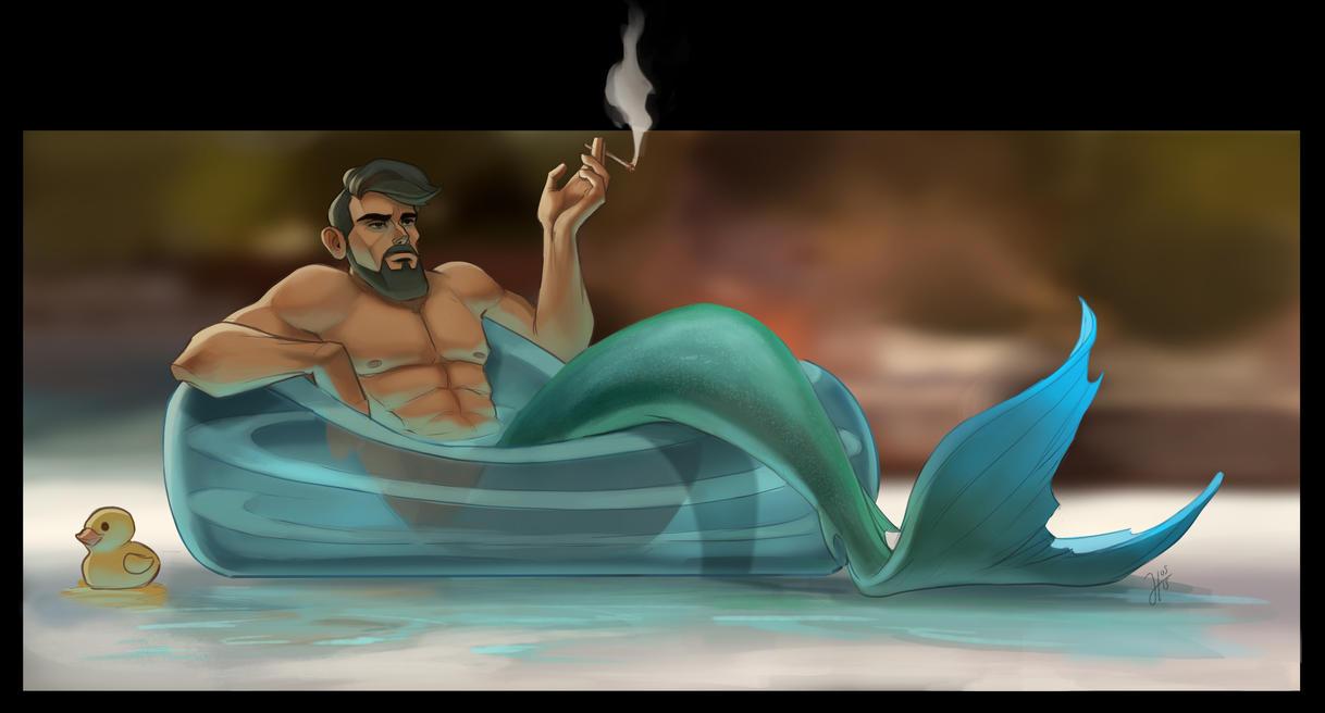 Aquaman by JustaBlink