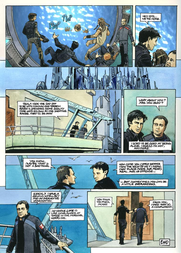 Stargate Atlantis Comic