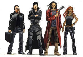 Badass Team - SGA fanart by astridv