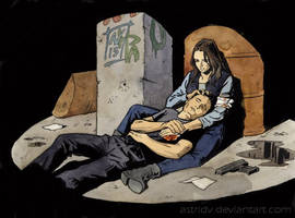 Agents of SHIELD - Ward and Skye by astridv