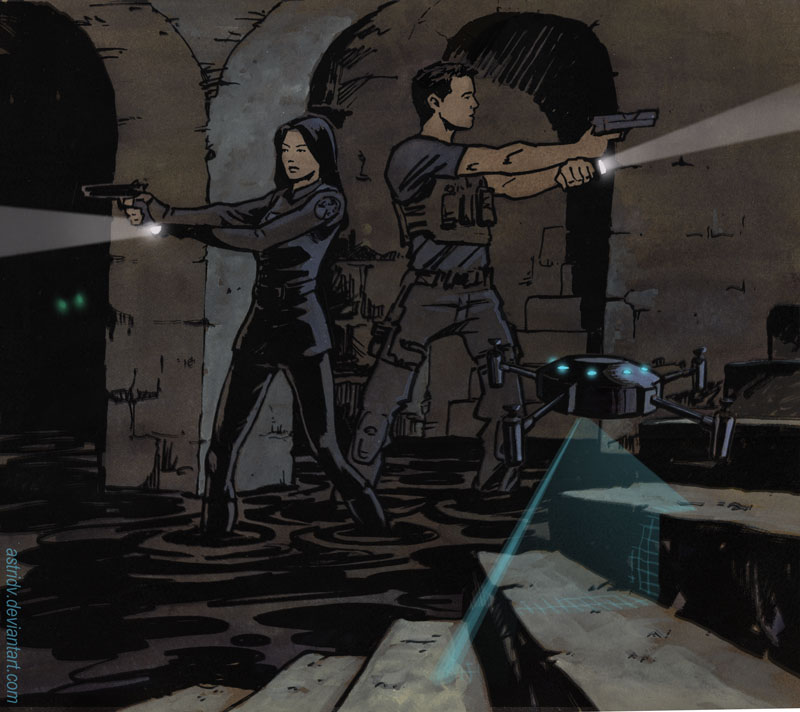 More Agents Of Shield Fanart May And Ward By Astridv On Deviantart