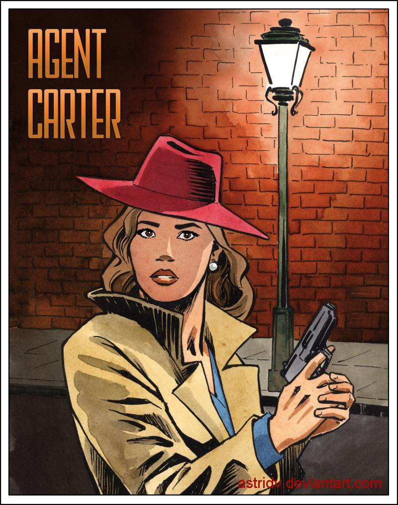 Agent Carter, Noir Style by astridv