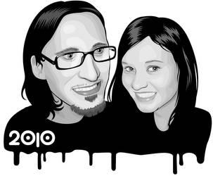 Shvrvp and Lina by muraviedo