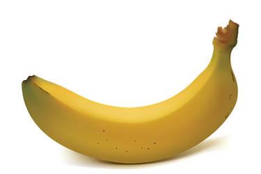 vector banana by muraviedo