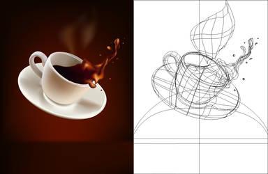 coffee splash by muraviedo