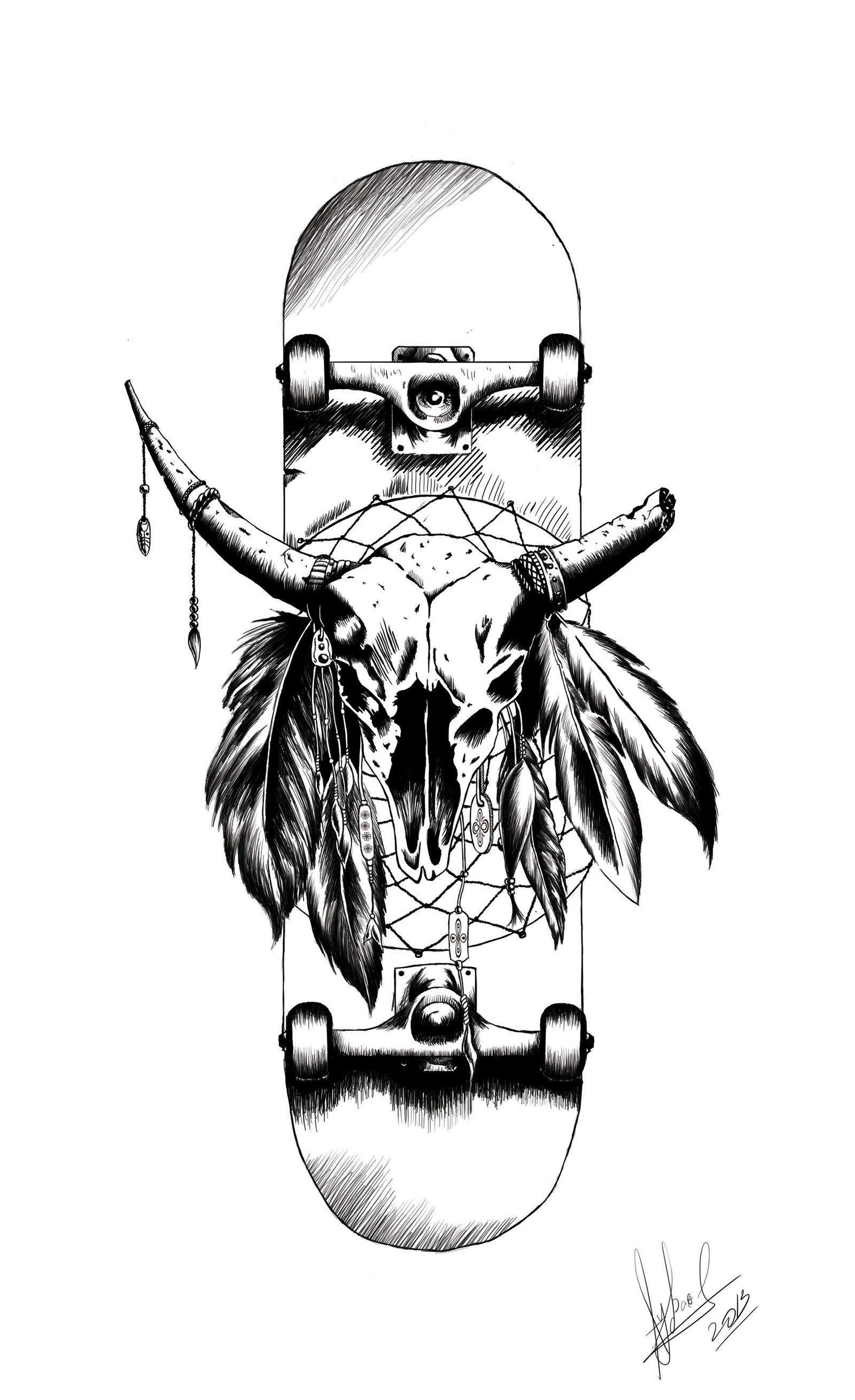 T-Shirt graphics for a local skate brand by TheRpp on DeviantArt