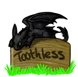 Toothless gallery icon by P0ryeon