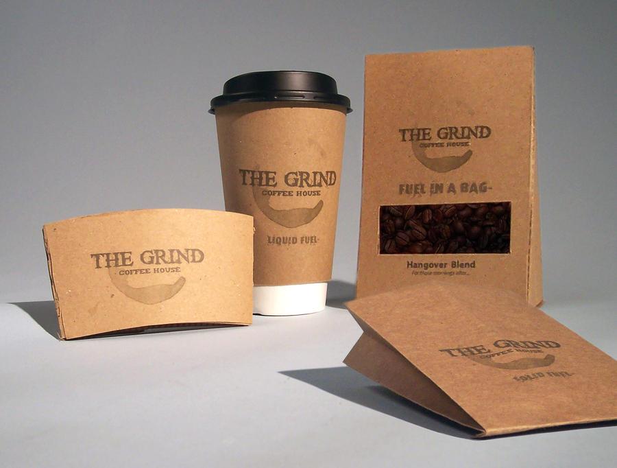 The Grind Packaging by nerdygrl