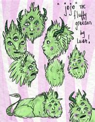 Jojo the Fluffy Greeson