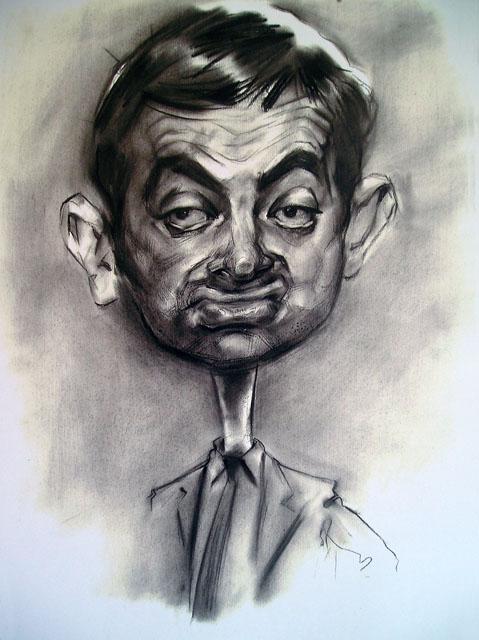 نتیجه تصویری برای ?caricature Artist mr bin?