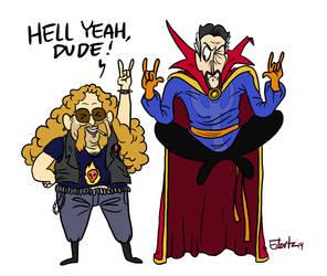 Dr. Strange digs heavy metal by edorta