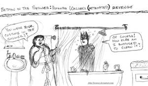 Batman in the Shower: Amanda Waller (part 3) by brensey
