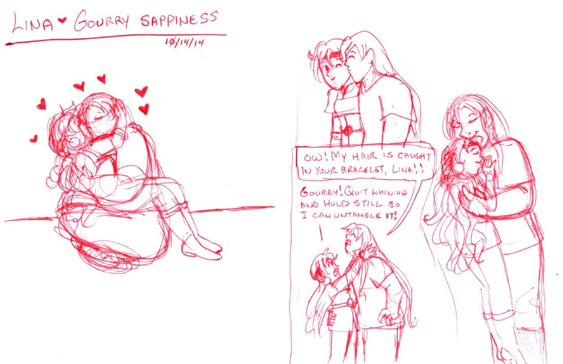 Lina Gourry sappiness by brensey
