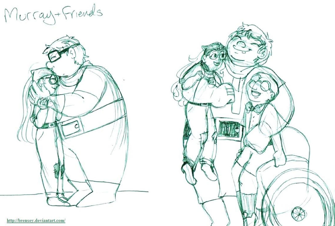 Murray And Friends by brensey