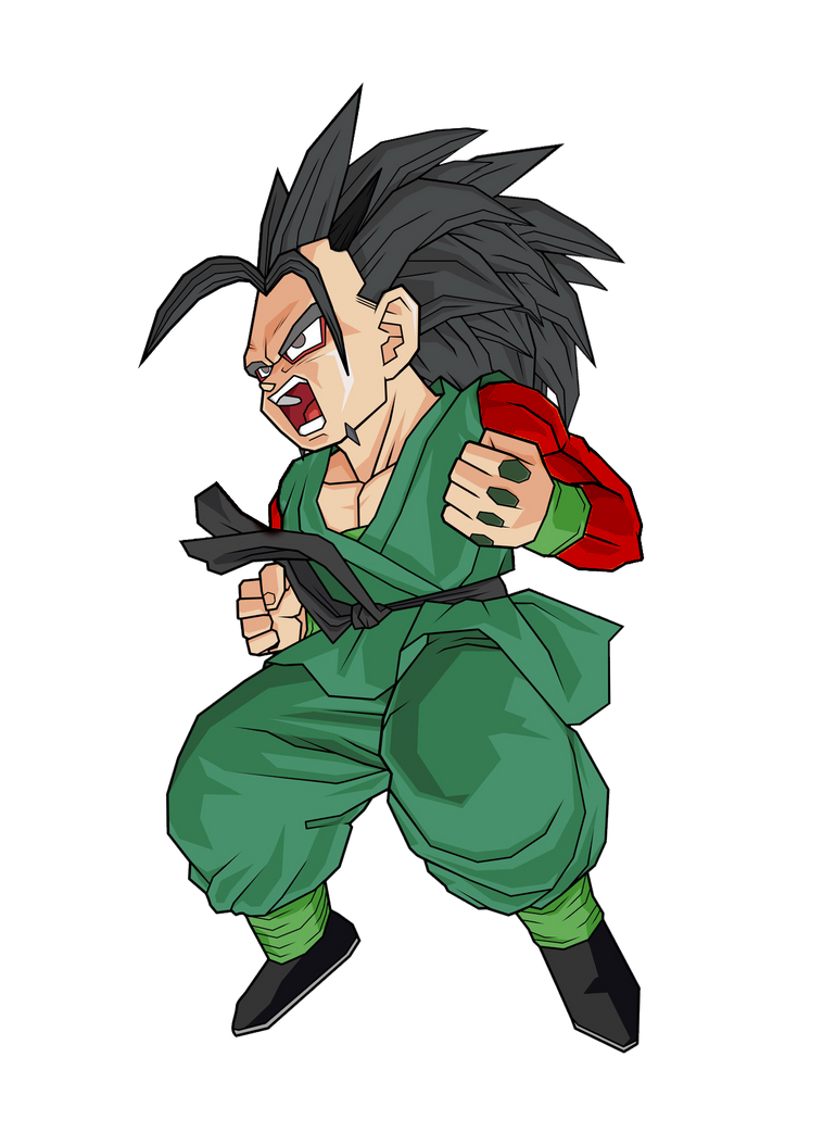 Xicor Ssj4 Xicor jr Ssj4 by Gokugarlic