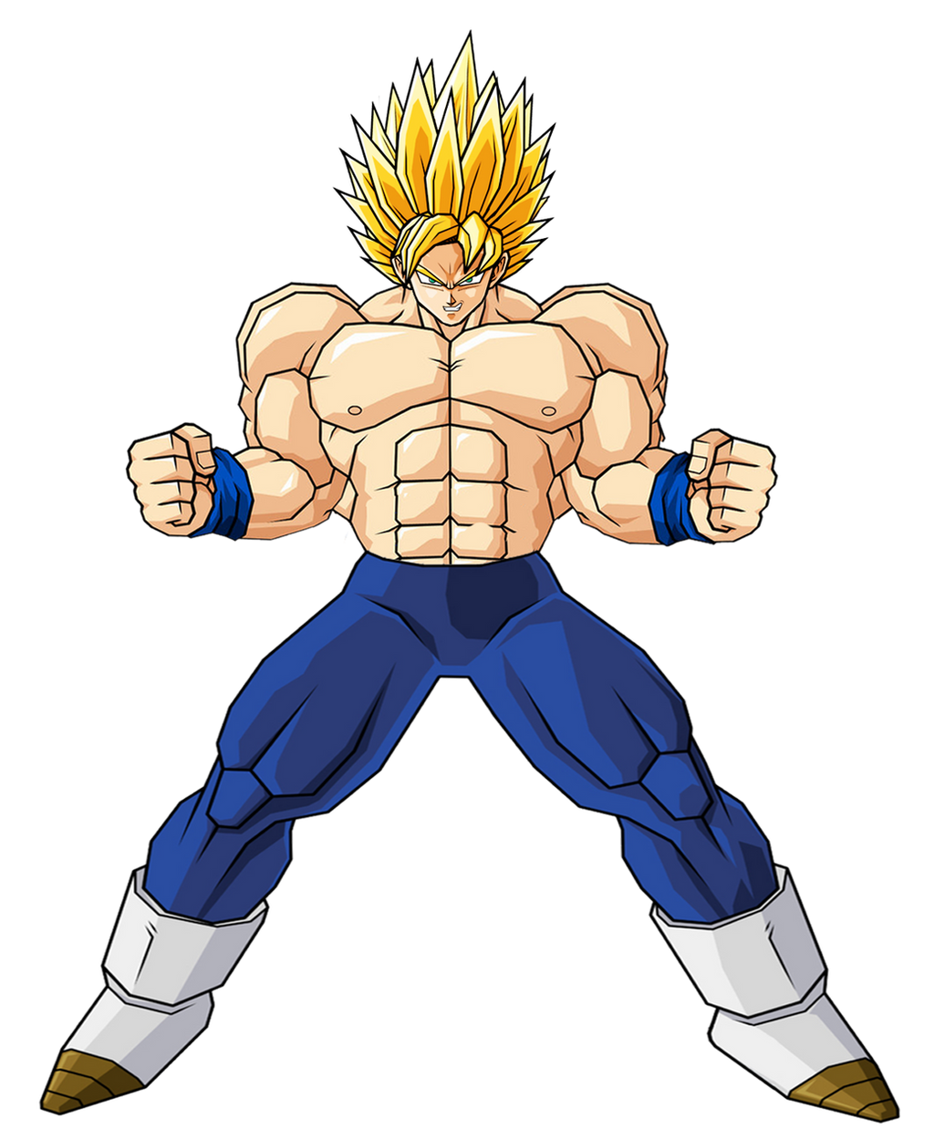 Goku Ultra Super Saiyan 2 by GokuGarlic