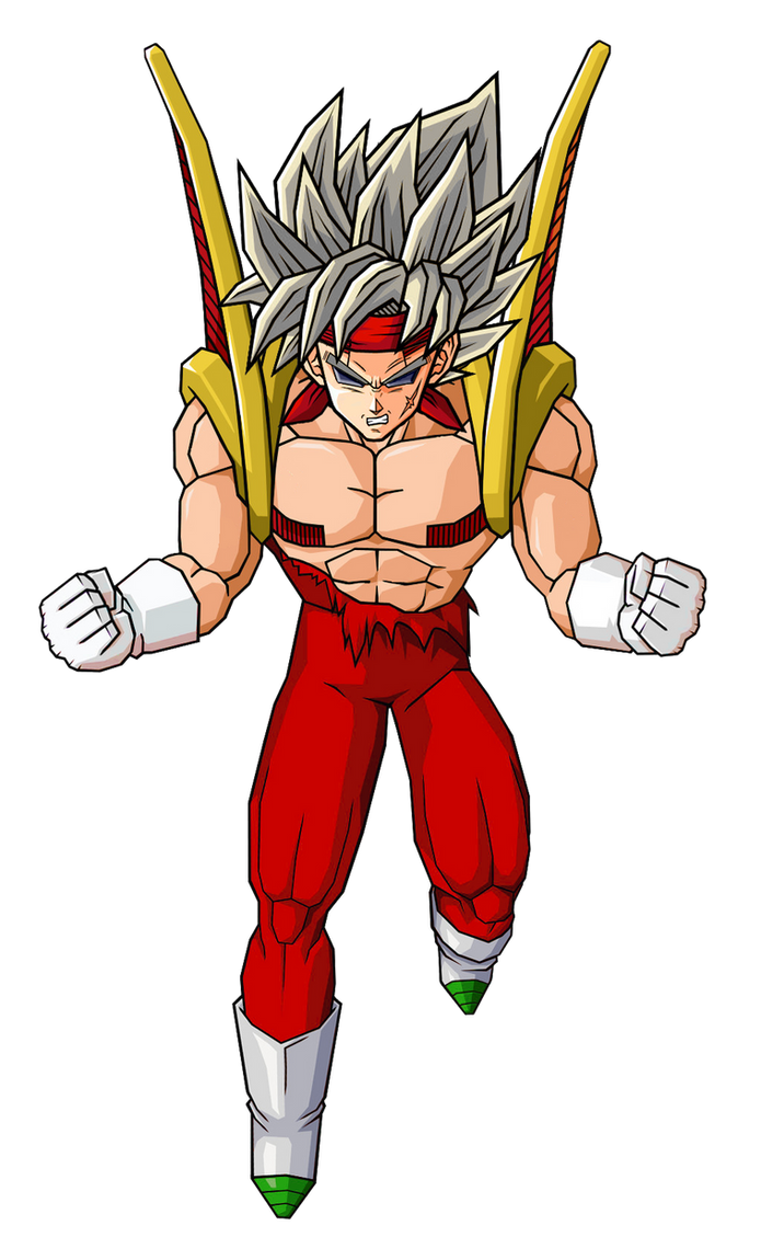 Baby Bardock Form 2 by GokuGarlic on DeviantArt