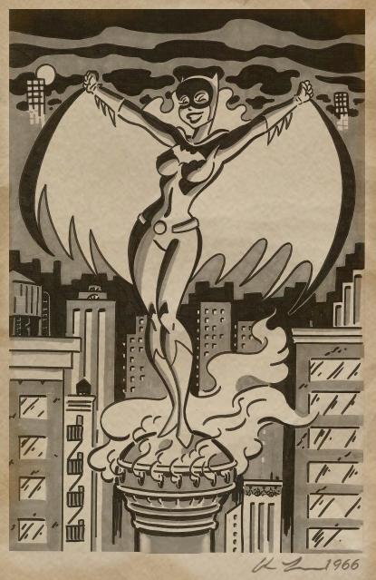 Batgirl 1966 Barbra by ChrisFaccone