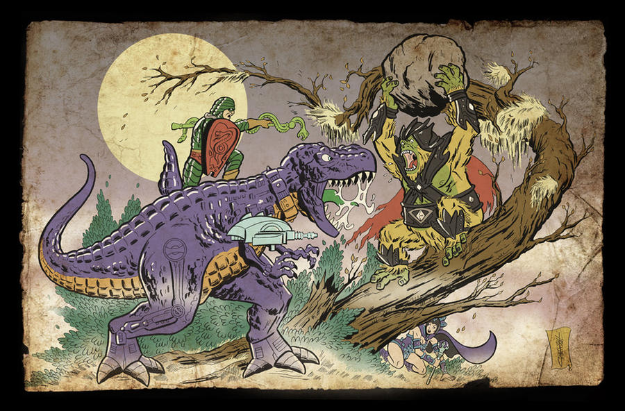 GYGOR VS KING HISS by ChrisFaccone on DeviantArt