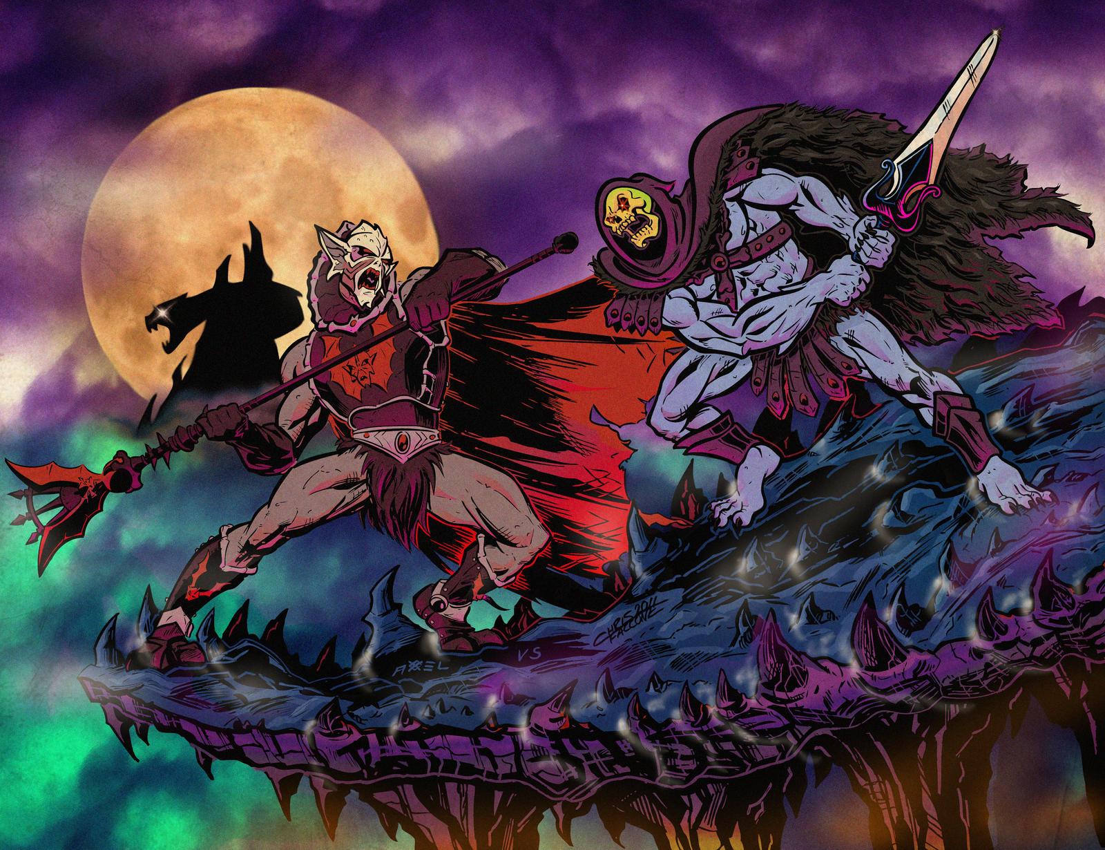 HORDAK VS SKELETOR animated by ChrisFaccone on DeviantArt