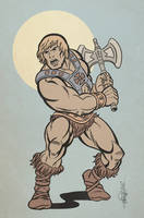 HE-MAN by ChrisFaccone