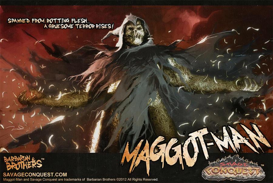 MAGGOT-MAN by ChrisFaccone