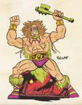 Ultimate Warrior MOTU Mash Up.