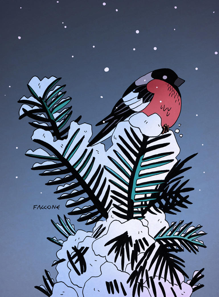 Snow Bird 2 by ChrisFaccone