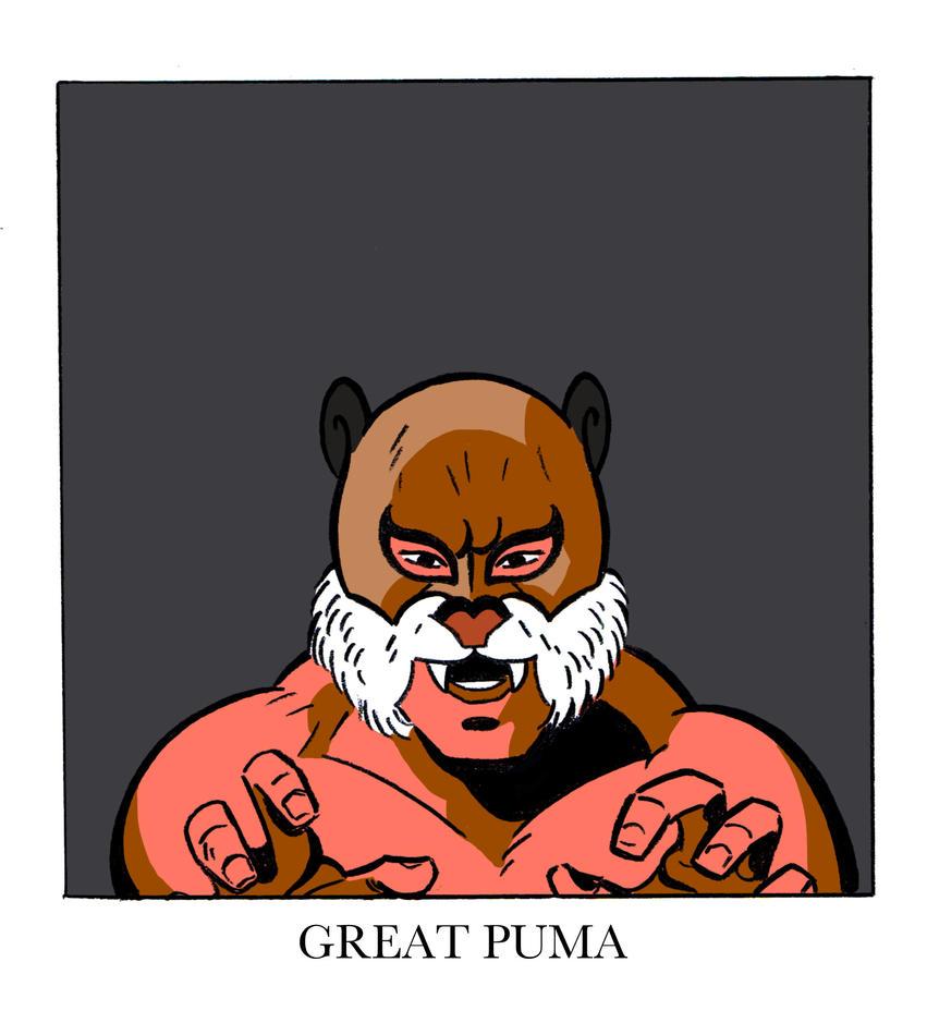Great Puma by ChrisFaccone