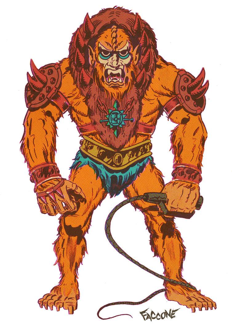 Beast man by ChrisFaccone
