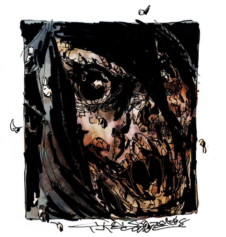 Maggot Man by ChrisFaccone