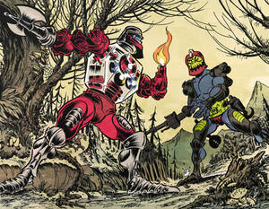 Roboto vs Trapjaw