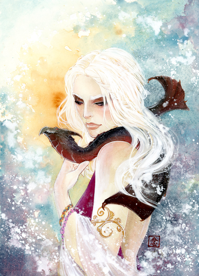 THE TARGARYEN GIRL by retromortis