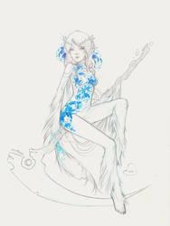 Crossbreed Priscilla || Sketch Commission