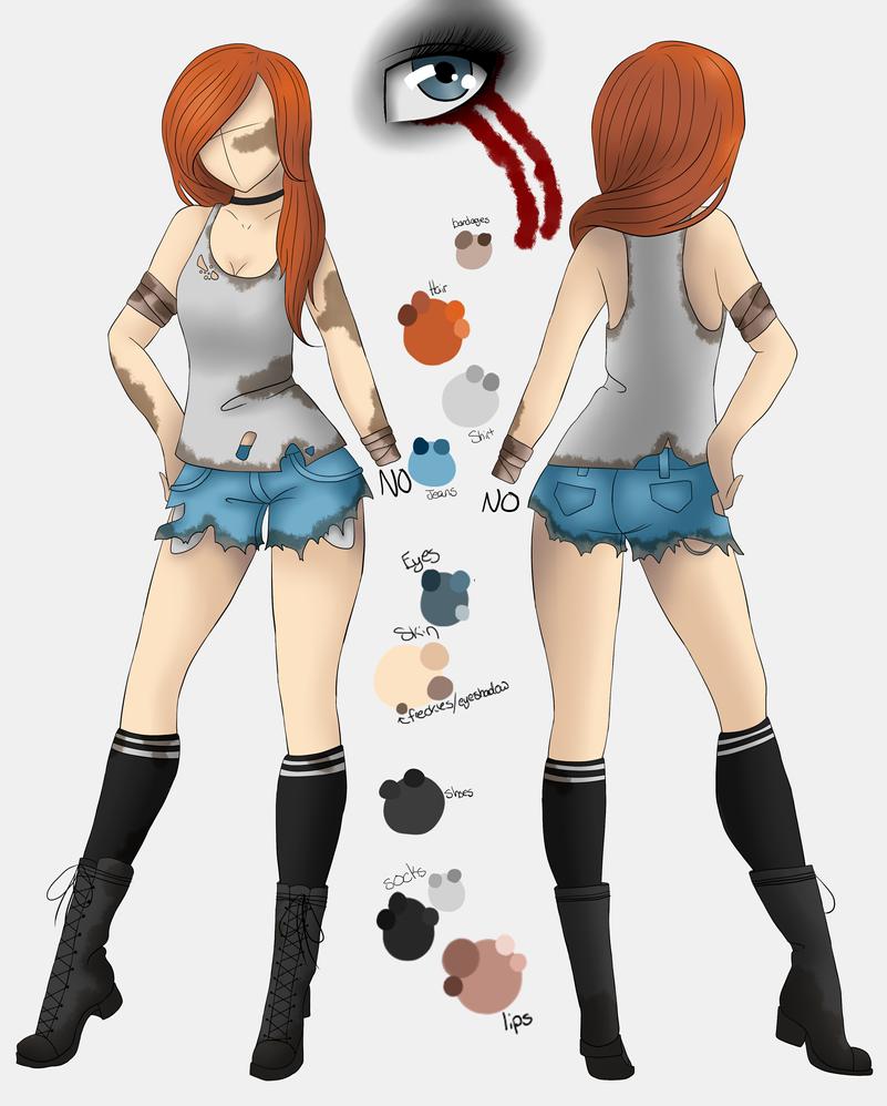 Wasteland Gwen Outfit Design by grim-doll