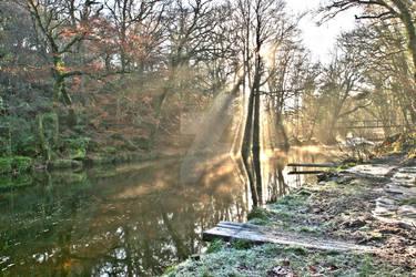 Winter River Scene 1
