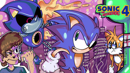Sonic 4 review thumbnail by Meloncucky!