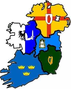 Provincial Map Of Ireland By Hraktuus On DeviantArt - Ireland provinces map