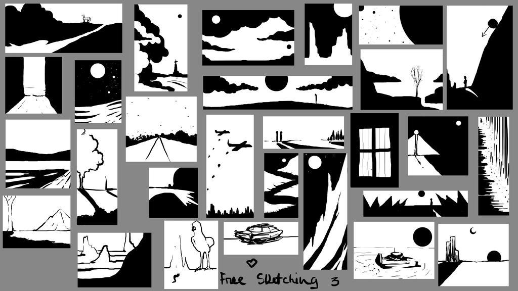 Sketching Env. 3 by Sabz0r
