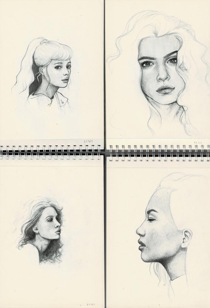 Portrait practice 3 (sketchdump)
