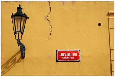 yellow wall by samweissb