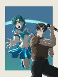 Ami and Jerren by SilverAmarok
