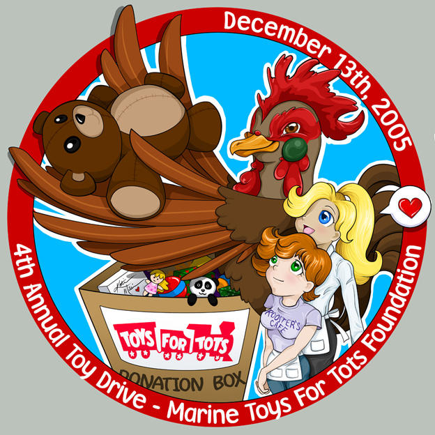 Toys Tots For For Statisistcs : Toys for tots shirt design by kathart on deviantart