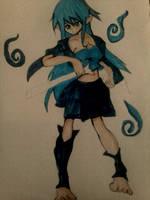 THE BLUE SPIRIT RETURNS DRAK COLOR by tifa005111